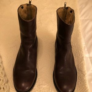 Brown Ankle Frye Boots